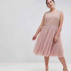 Beautiful Blush Plus Size Dress